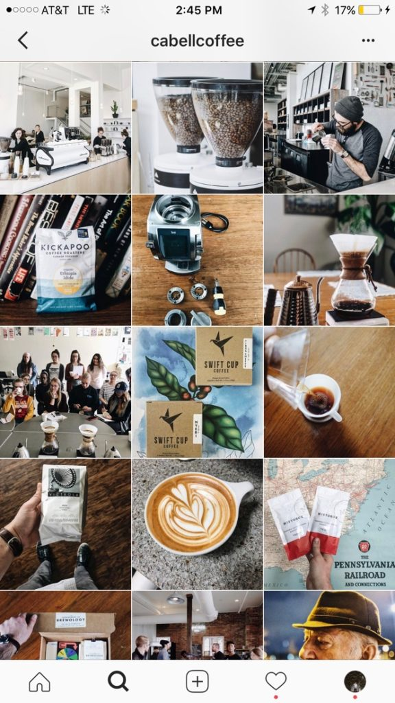 Cable Coffee's fabulously curated Instagram Feed | Visual Creatives, West Palm Beach